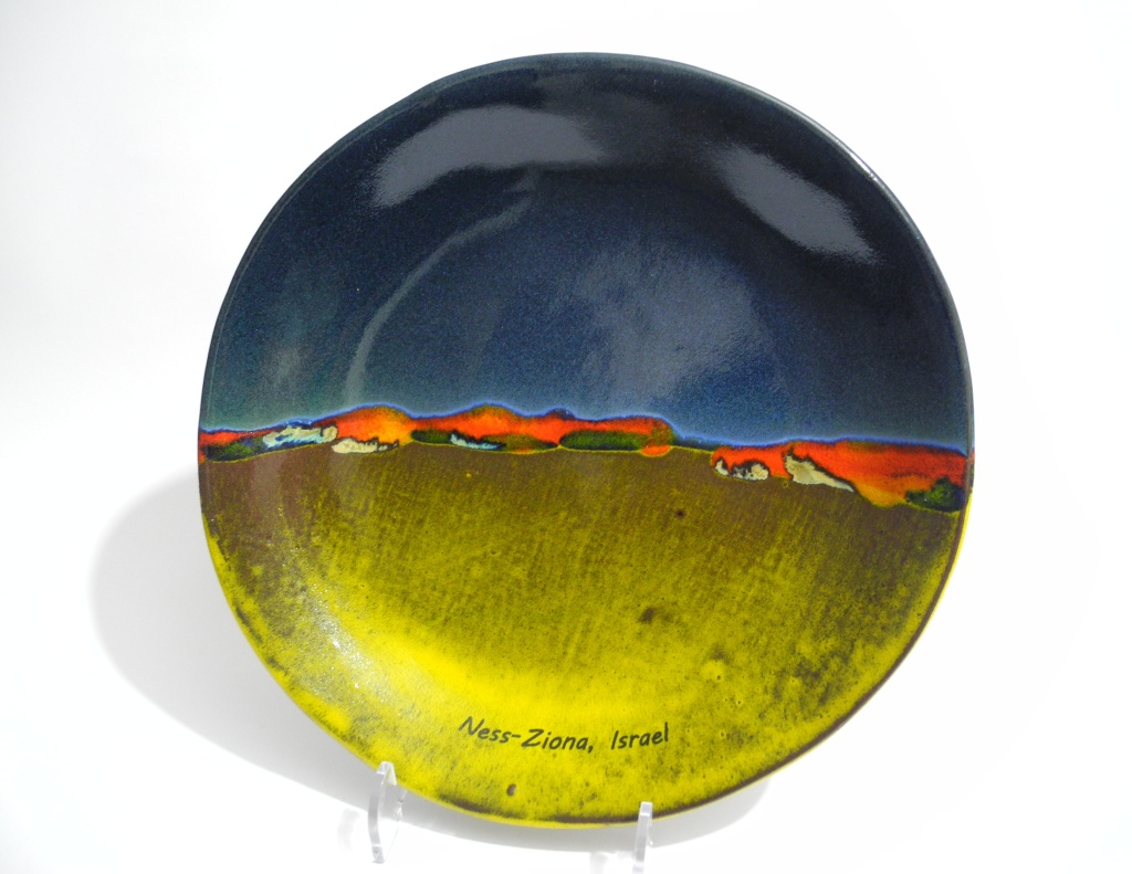 Abstract Landscape, Plate, Dish