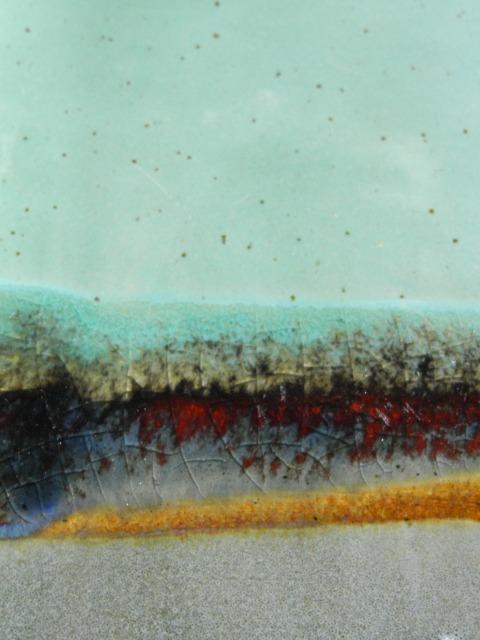 Glazing, Landscape, Glaze Detail