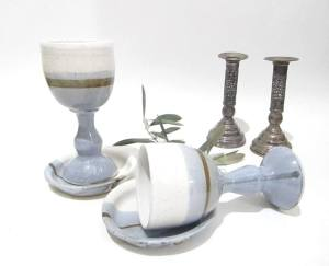 Wine Goblet, Kiddush Cup, Judaic Gifts