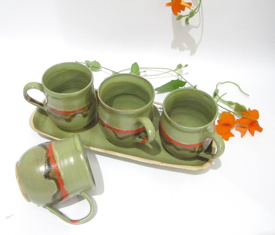 Coffee Cups, Tea Mugs, Pottery Mugs, Drinkware