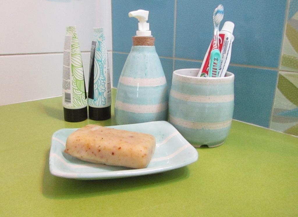 Soap Dish, Toothbrush Holder, Soap Dispenser