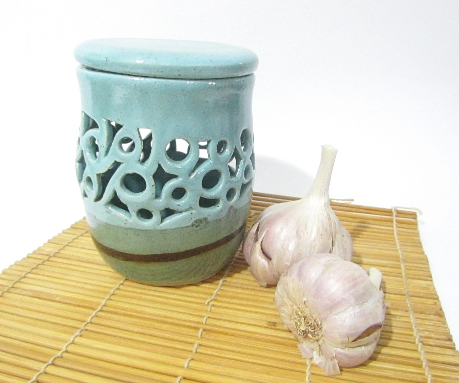Garlic Storage, Garlic Jar, Garlic Pot